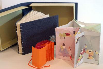 Three books and a box