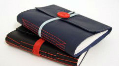 Longstitch with leather covers