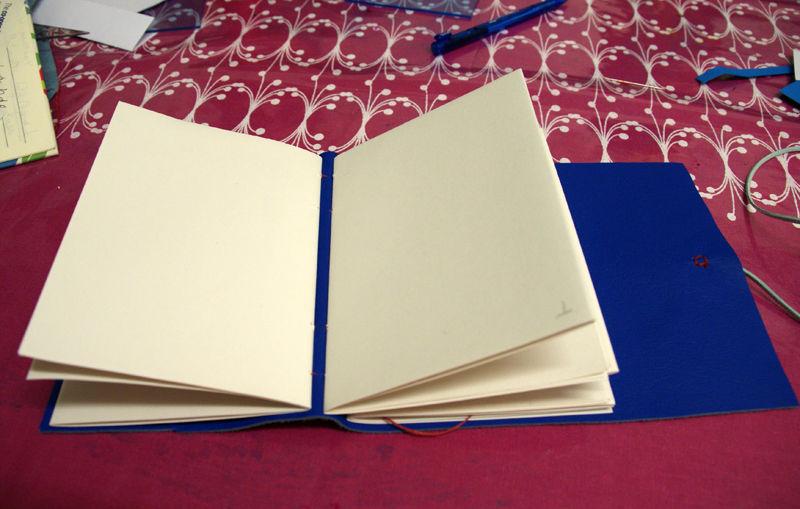 Open longstitch book