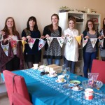 Finished Bunting