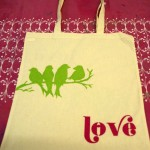 Printed tote bag hen party