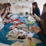 Bridal Bunting Making Hen Party