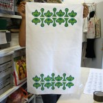 Finished Tea Towel