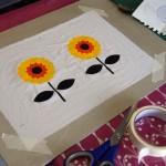 Two Sun Flowers