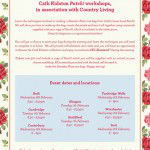 Cath Kidston patch workshop dates