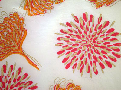 Screen print on silk
