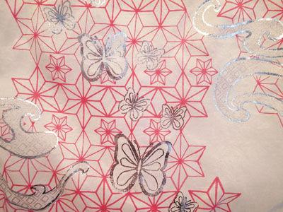 Hemp-butterfly-wave-screen-print-on-silk