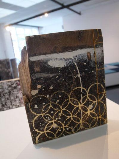 Japanese wooden stab bound book