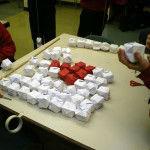 Making origami flag
