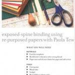 Paper Jewellery book - materials