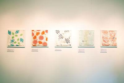 Fukusa cloths in exhibition