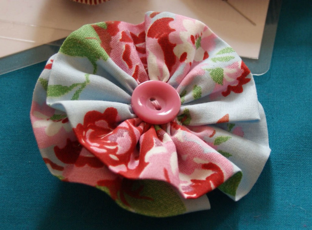 Fabric Brooch Hen Party
