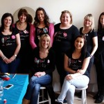 Fabric Brooch Making Hen Party