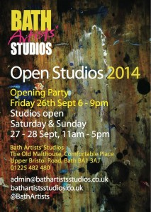 Open Studios 2014 e-flyer